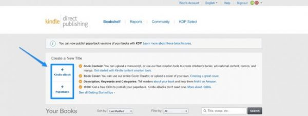 Kindle Direct Publishing (HOW IT WORKS) | thedoublethink